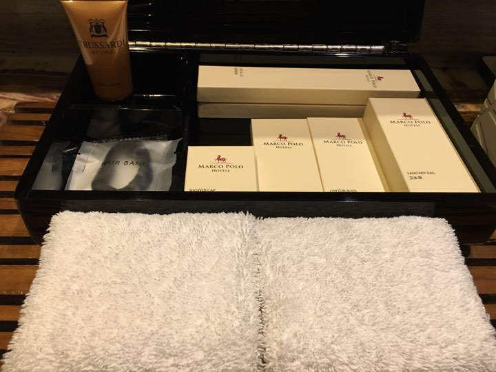 toiletries. in our Continental Club Room at Marco Polo Ortigas