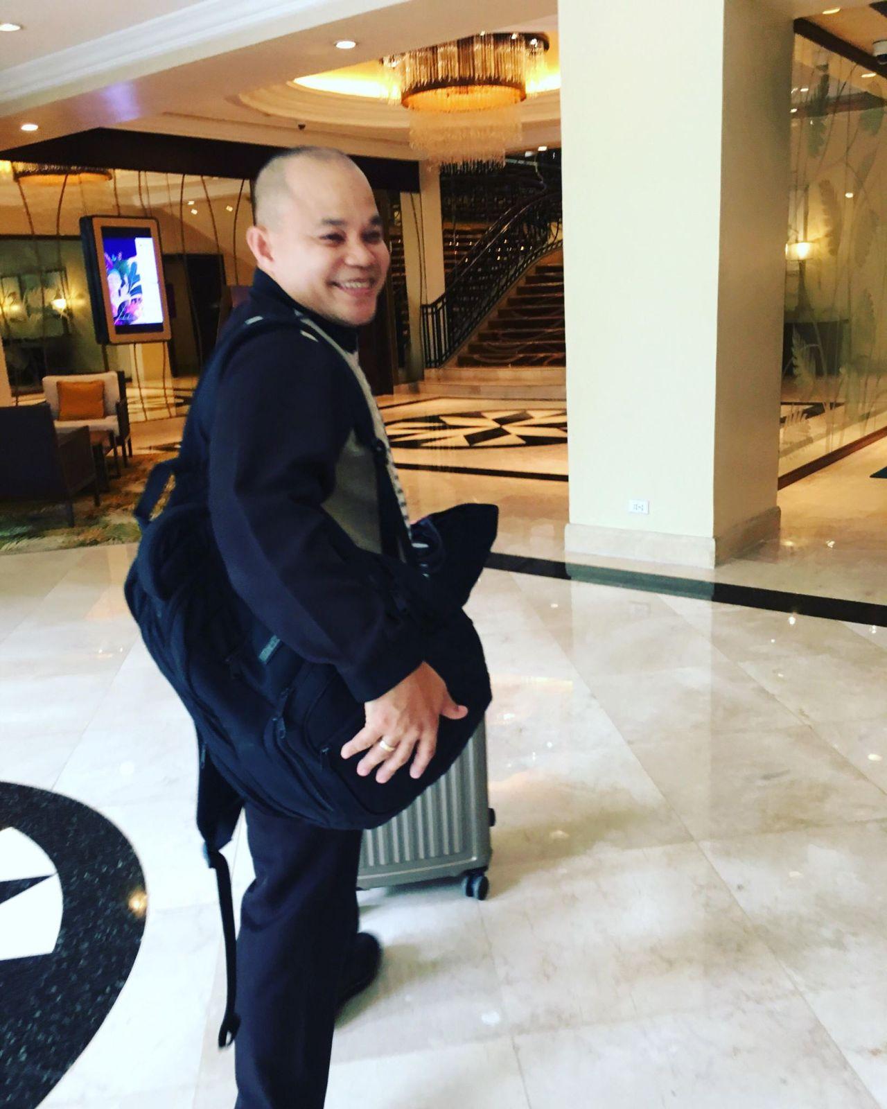 Bert Alis of Edsa Shangri-la Manila