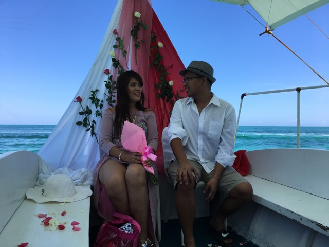 Our renewal of vows in Boracay with the help of BPHT.