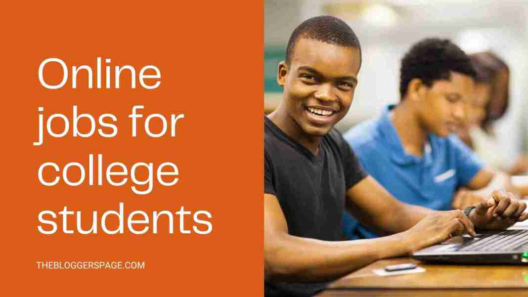 online part time jobs for college students