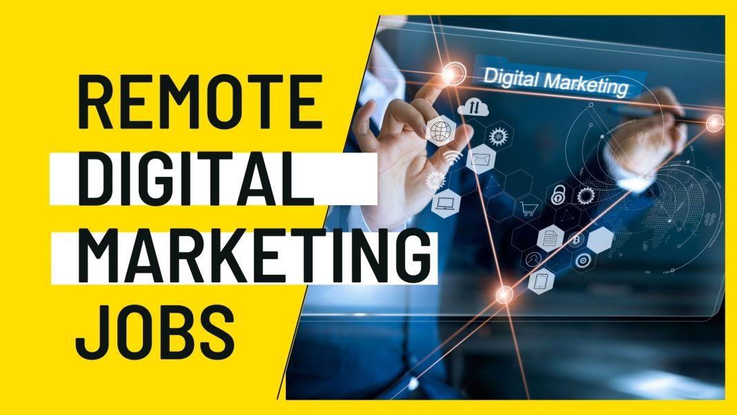 Remote Digital Marketing Jobs