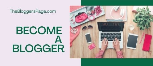 become a blogger Work from home without investment