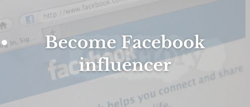 become a facebook influencer ways to make money from home