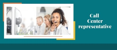call center representative Work from home without investment