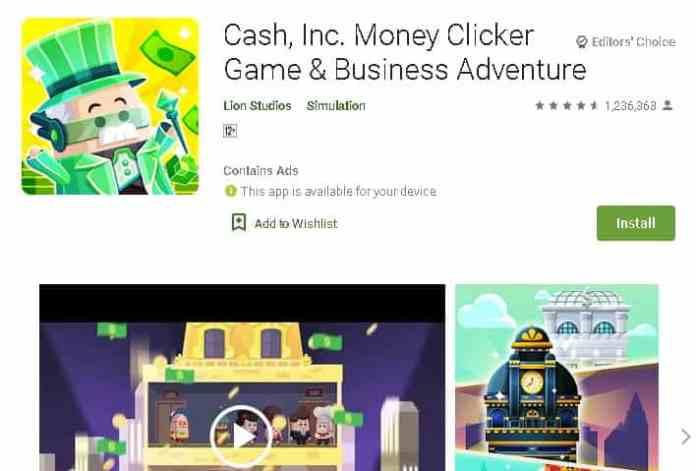cash inc Best money making apps