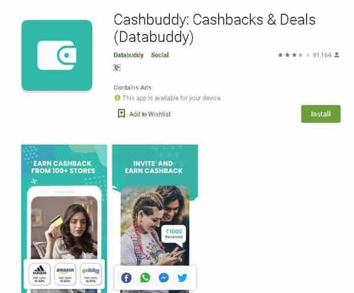 cashbuddy Best money making apps
