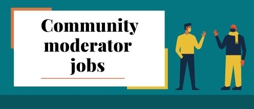 community moderator online typing job daily payment