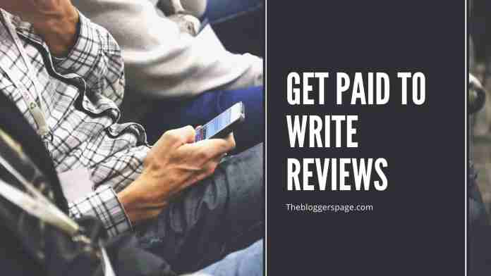 get paid to write reviews online jobs for college students