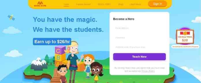 magic ears online teaching jobs