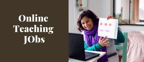 online teaching jobs quick way to make money
