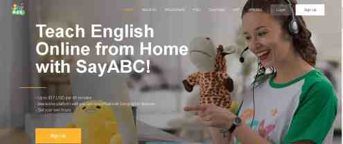sayabc online teaching jobs