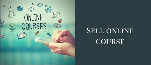 sell online course online part time jobs from home
