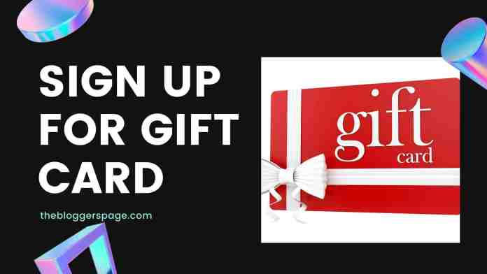sign up for gift card online jobs for college students