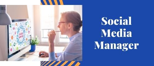 social media manager Online part time jobs from home