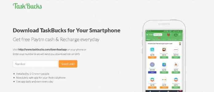 task bucks Best money making apps