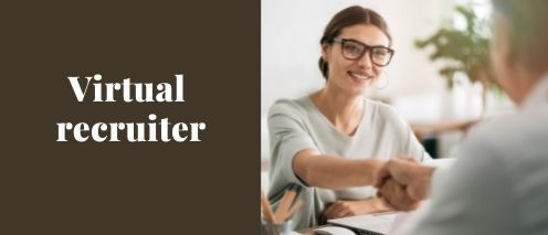 virtual recruiter part time home based jobs