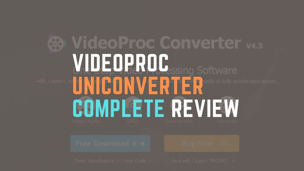Videoproc converter Complete Review