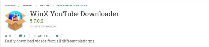 winx youtube video downloader