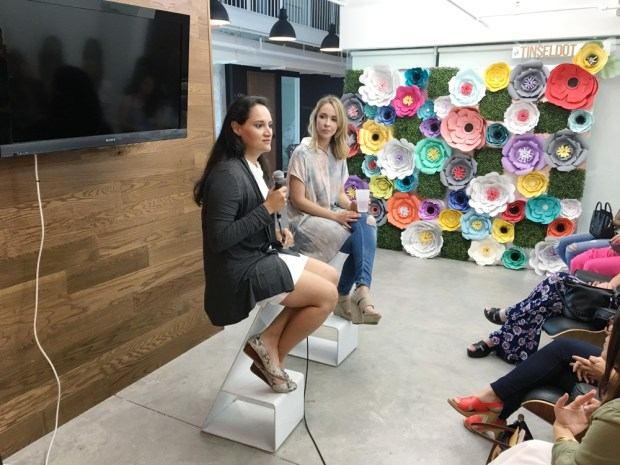 South Florida Bloggers April Meetup. Guest Speaker Annabel Mendez talking about Sponsorships and working with brands.