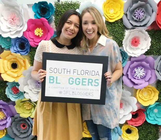 The Blogger Union Founders Paola Mendez and Nikki Novo.