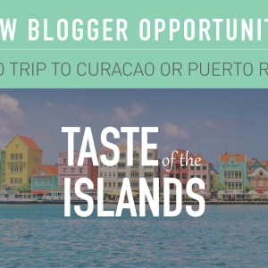 South Florida Bloggers Paid Round Trip to The Curacao or Puerto Rico Blogger Opportunity
