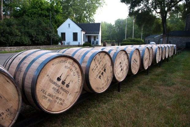 Woodford Reserve Bourbon Barrels