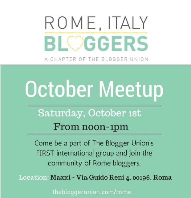 October Rome Meetup