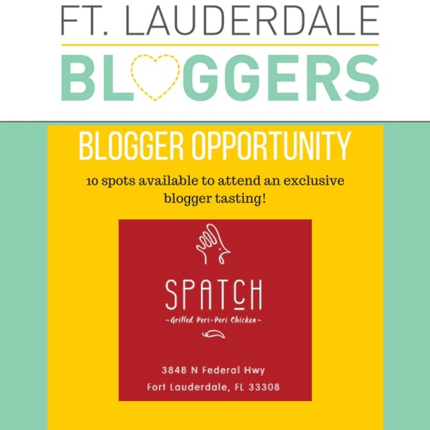 Blogger Opportunity: Dinner at Spatch Peri-Peri Chicken in