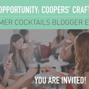 Cooper's Craft Summer Event