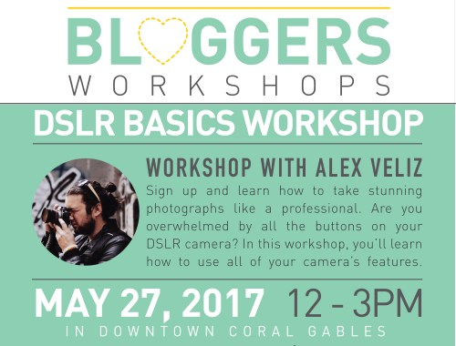 Beginner DSLR Photography Workshop by Alex Veliz