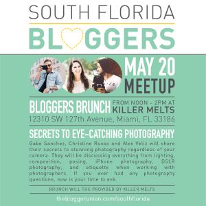 May South Florida Blogger Meetup