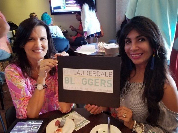 Members of the Ft Lauderdale Blogger network