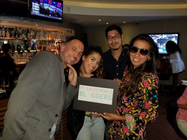Ft Lauderdale Bloggers having fun at Chima Brazilian Steakhouse