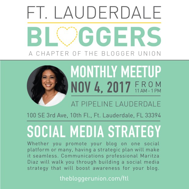 Ft Lauderdale Bloggers Meetup Social Media Strategy