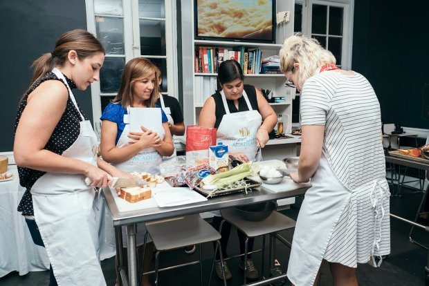 Miami Bloggers Parmigiano Reggiano Cooking Class at The Biltmore Culinary Academy
