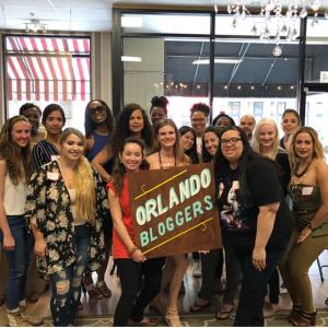 Orlando Bloggers May 2018 Recap Pic