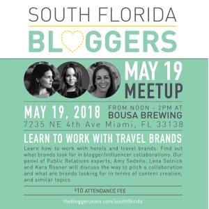 Miami Bloggers Meetup May 2018