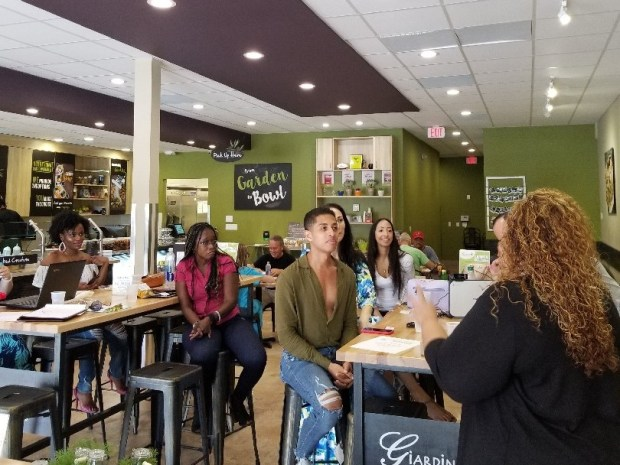 Ms. Virtual Maven speaks to Ft Lauderdale Bloggers about Pinterest for Bloggers in 2018.