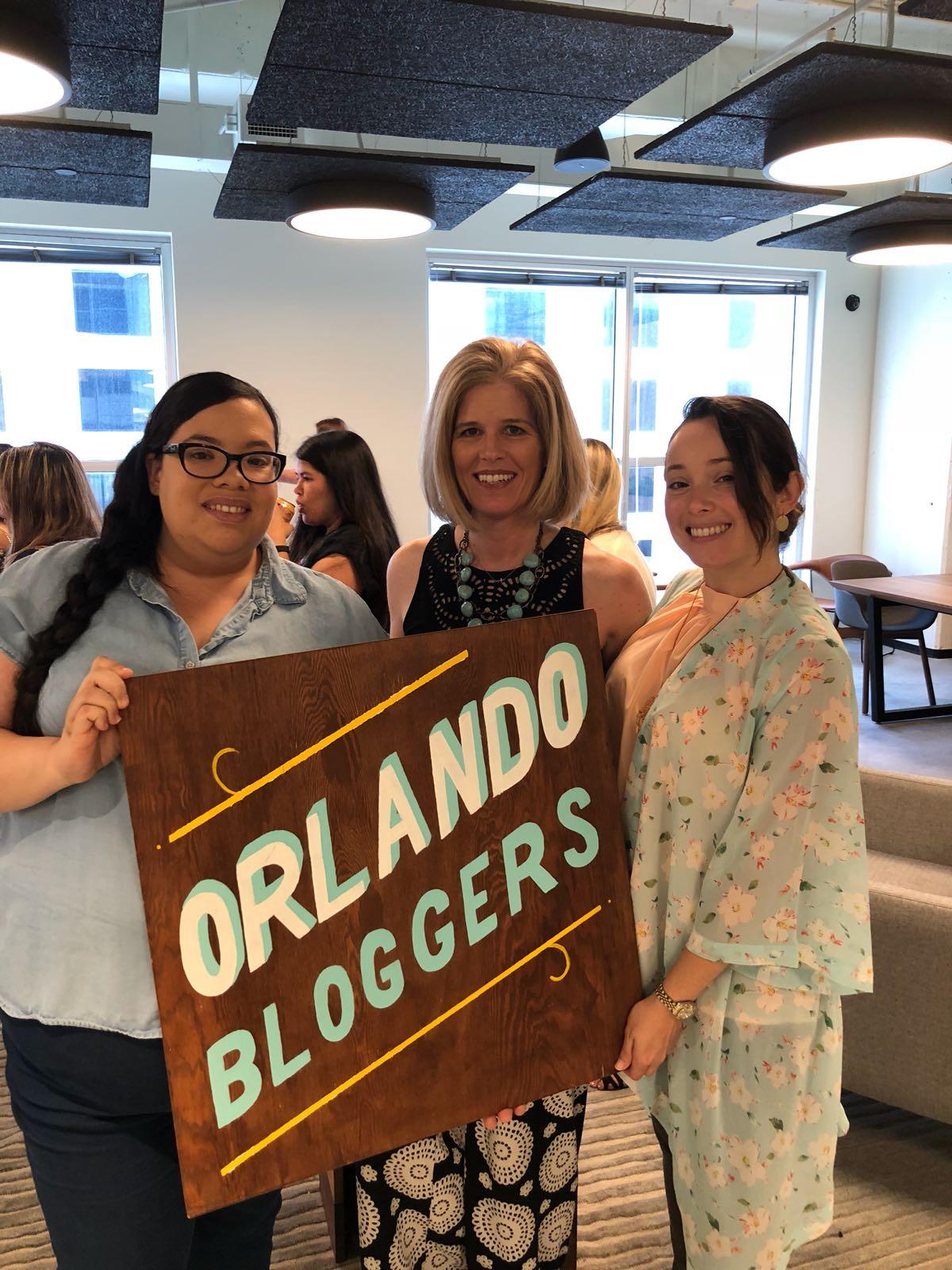Orlando Bloggers June 2018 Meetup Angie Curcio speaker about Facebook Live