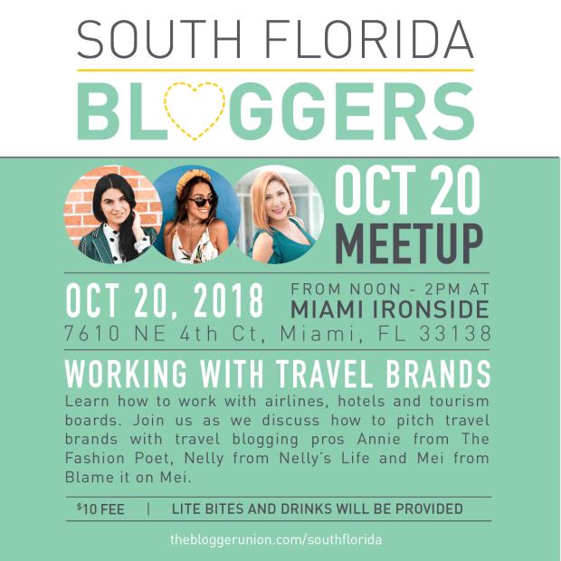 October South Florida Bloggers Meetup