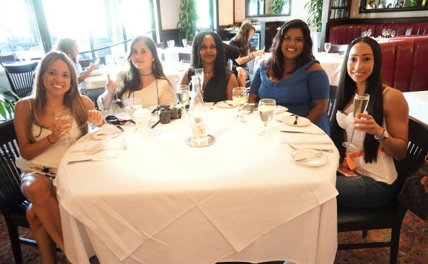 Fashion and beauty influencer blogger meetup at The Galleria at Ft Lauderdale