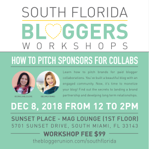 Pitching Basics Workshop. Learn How to Pitch Brand Collaborations