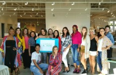Ft Lauderdale Bloggers meet at Robb and Stucky Furniture and Interiors in Boca Raton, Florida