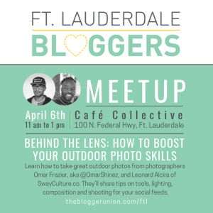 Outdoor Photography Skills for Bloggers Meetup