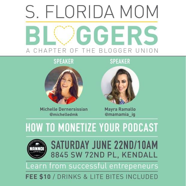 South Florida Mom Bloggers - June Meetup