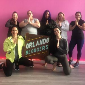 Orlando Bloggers at YogaMix Orlando - January Meet-up