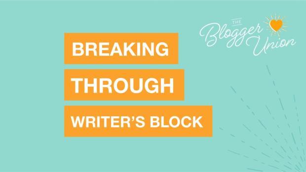 Breaking through writer's block webinar reaply