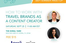Miami Bloggers September Meetups. Learn How To Work with Hotels in 2021