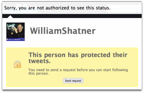 I'm not going to beg, William Shatner.