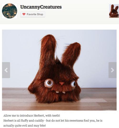 uncanny creatures